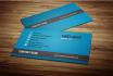 designed business cards and i am professional designer