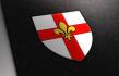 design a unique heraldic shield, coat of arms, blazon, crest