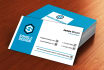 design OUTSTANDING business card within 24 hrs