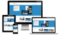 create a Responsive Website with Html5 , Css and Javascript