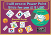create design power point presentation for you