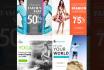 design 4 Super Creative Instagram promotional Banners