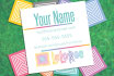 create a basic Square LulaRoe Business Card for you