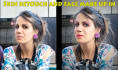 do skin retouch, face make up in and other effects