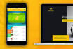 design mobile UI for material design