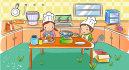 make cute children book illustration