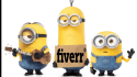 add your logo message minion disco video