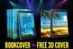 design 2d bookcover createspace lulu ingramspark kindle Lightning Source cd dvd