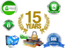 give you 15 Years SSL Certificate with Web Security