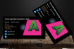 create Ultimate and Perfect Business Card within 24 hours