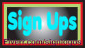 make you 35 active and real unique sign ups