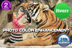 edit retouch or remove background in Photoshop in 4 hours