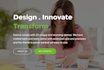 customize a website by WordPress