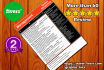 design a resume, cover letter, resume, cv, flyer designin,