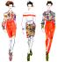 do amazing fashion illustrations for you