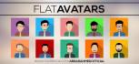 create a minimalist avatar or caricature