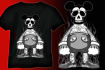 draw an Eye Catching Cartoon TShirt Design with unlimited revisions