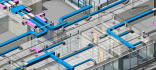 do hvac system design and MEP services in Revit