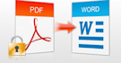 convert pdf into ms word, power point, images