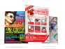 create a PROFESSIONAL  Flyer, banner, cover, post card design