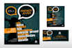 create amazing flyer and business  card for your company