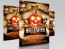 create eye catching Halloween flyer for you