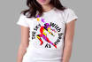 creating 2 t shirt design AND eye catching