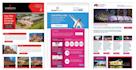 design professional responsive mailchimp newsletter