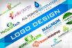 do unique eye catching,elegent logo design for you
