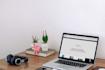 design a mockup of your website on a macbook pro