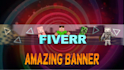 create a 3d minecraft youtube banner for you