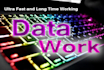 do 3 hours data entry services