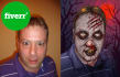 turn your Photo into a ZOMBIE