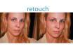 retouch skin in 5 photo