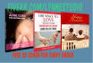 design a Professional Eye Catching ebook or kindle cover