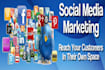 give Social Media Marketing Your Website Link