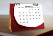 design desk calendar or wall calendar