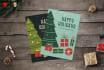 create Christmas greeting card