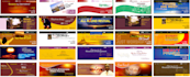 design a TOP Notch Banner, Ad or Header for you