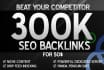 create authantic Backlinks for your valuable Websit