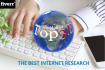 make the best internet research for you
