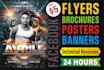design eye catching Bespoke Flyer,Brochure Poster