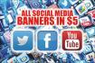 design unique social banners