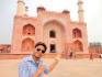 record a video at Mughal King Akbar Royal Palace