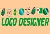 design a custom logo of your choice