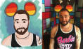 draw your portrait in Disney style