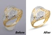 retouch your jewellery pics to make it look professional
