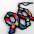 handcraft a rainbow fish Christmas ornament
