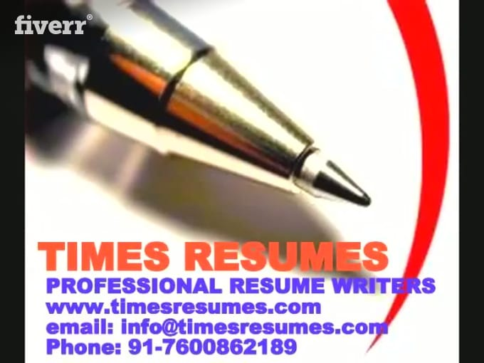 professional resume writing service online