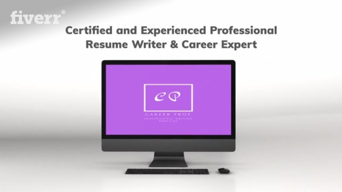 Provide professional resume writing, resume design, cover letter by ...